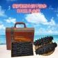 俄罗斯野生淡干海参120头八成干1斤赠送礼盒500克年货送礼品